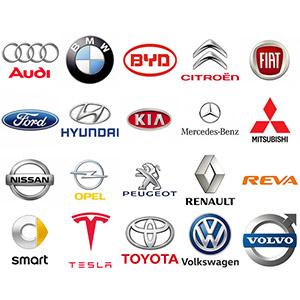 Autó márkák szerint